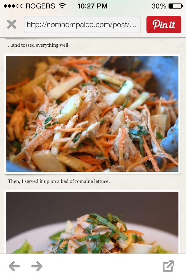 Asian Almond Chicken Salad | Trusper