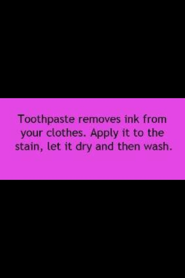 Easy Way To Remove Ink From Clothes Trusper