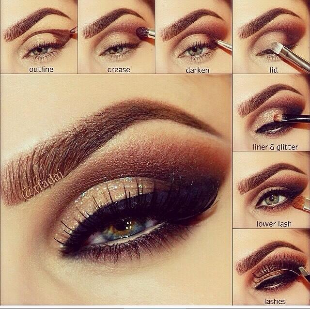 17 Gorgeous Fall & Winter Smokey Eye Makeup Pictorials! 😯😍👌 #tipit