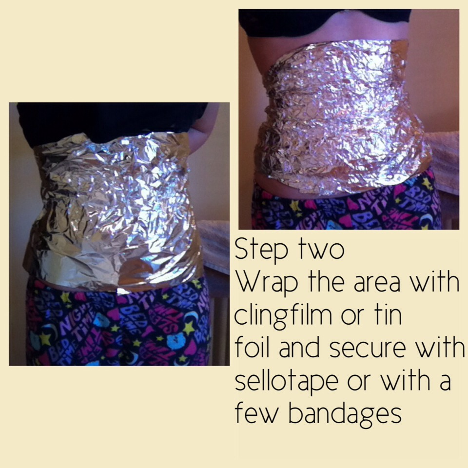 Diy At Home Weight Loss Wrap: Lose Weight Quickly With A Homemade Body Wrap!!! SUPER