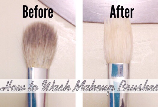 How To Clean Your Makeup Brushes 💕
