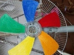 Colorful Fan