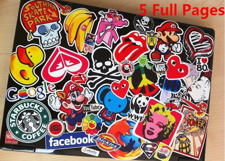 DIY Laptop Stickers | Trusper