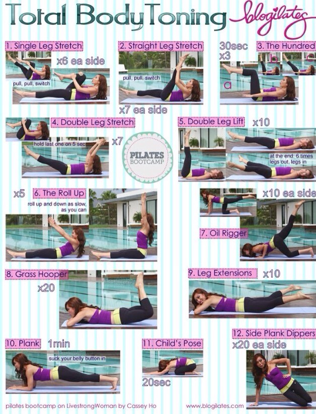 Full Body Toning Workouts! ❤️👙