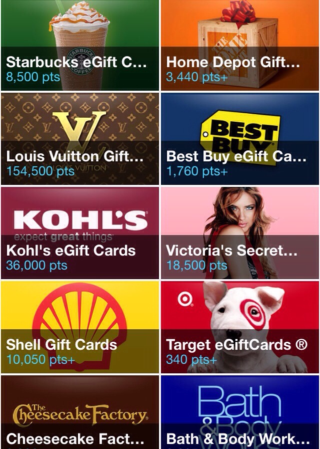 Checkpoints Earn Free Gift Cards To Your Favorite Stores