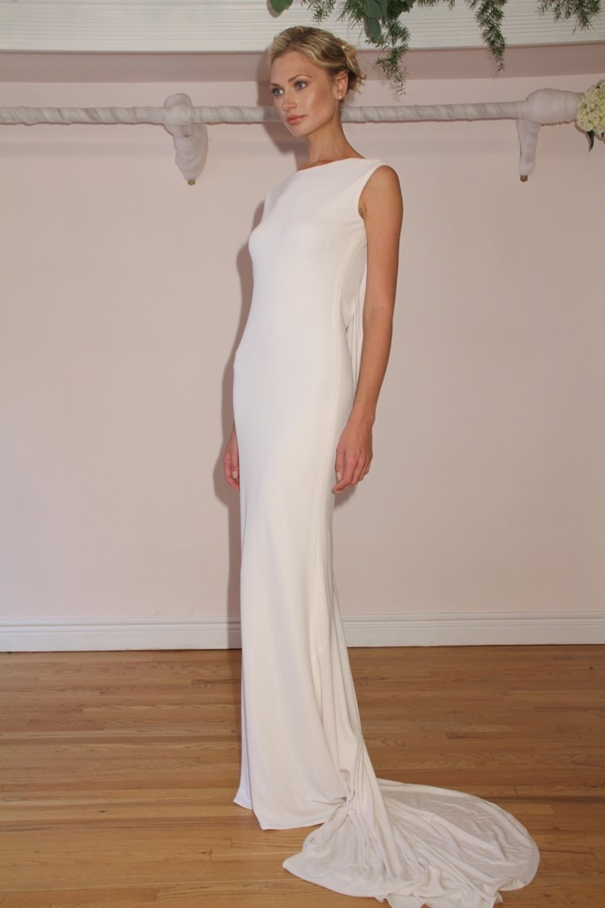 Sleek wedding dresses trusper for What kind of shoes to wear with wedding dress