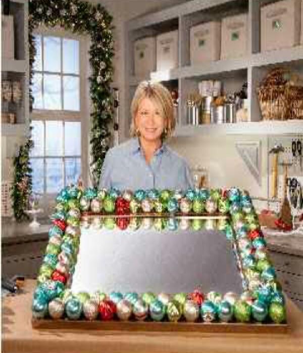 DIY Martha Stewart Decoration Mirror!!