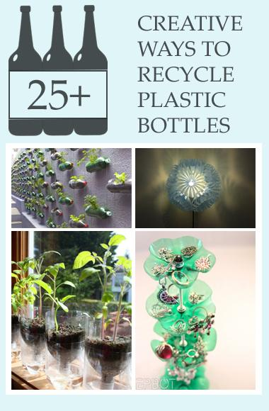 25 creative ways to recycle plastic bottles trusper for Ways to recycle plastic bottles