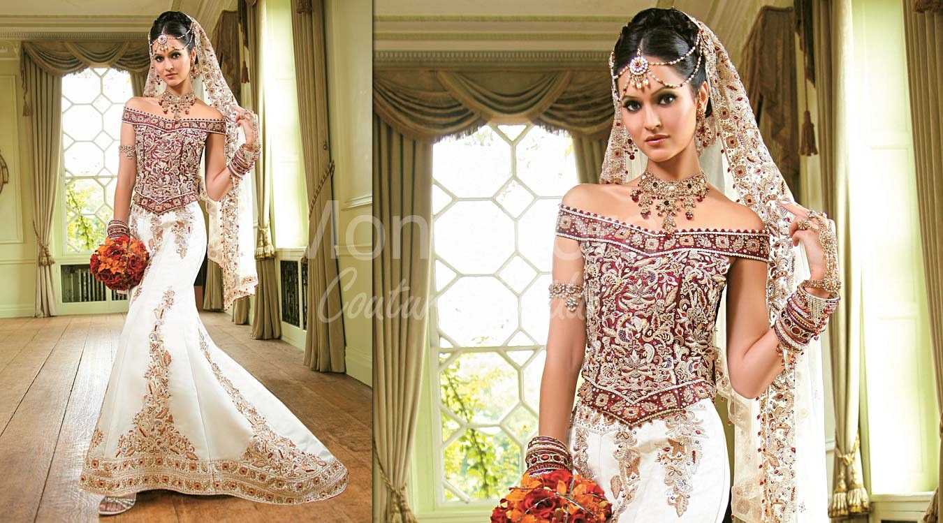 Indian Inspired Wedding Gowns Trusper