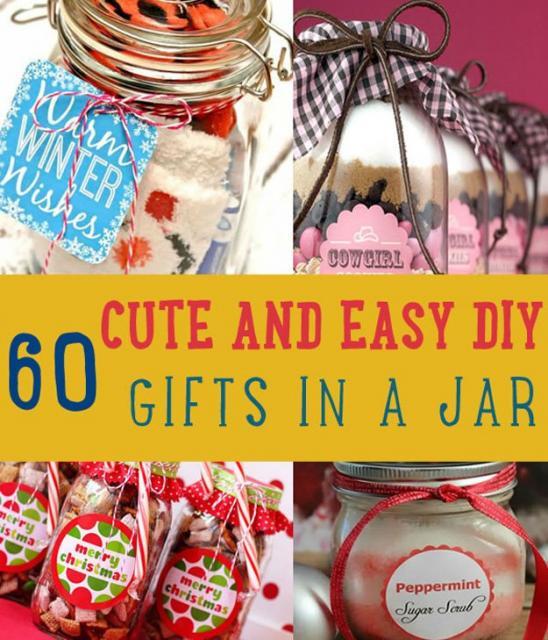 60 Christmas Mason Jar Ideas# Christmas Gifts
