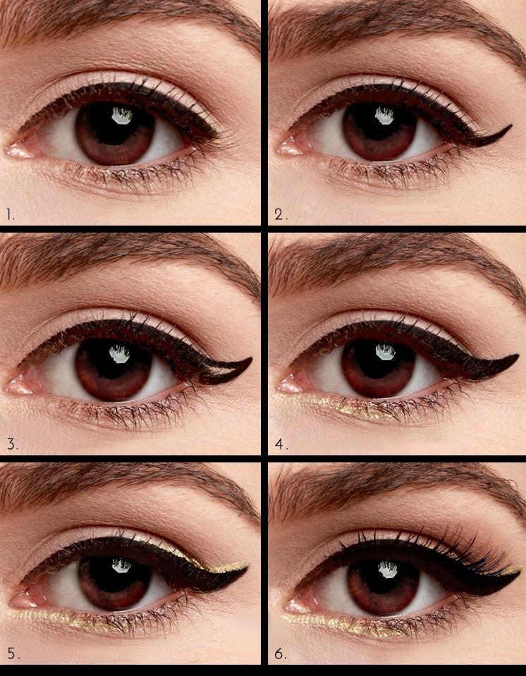 Как сделать кошачий глаз