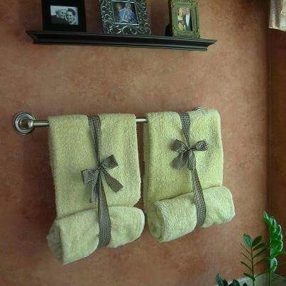 A New Way To Put Up Your Towels In The Bathroom Trusper