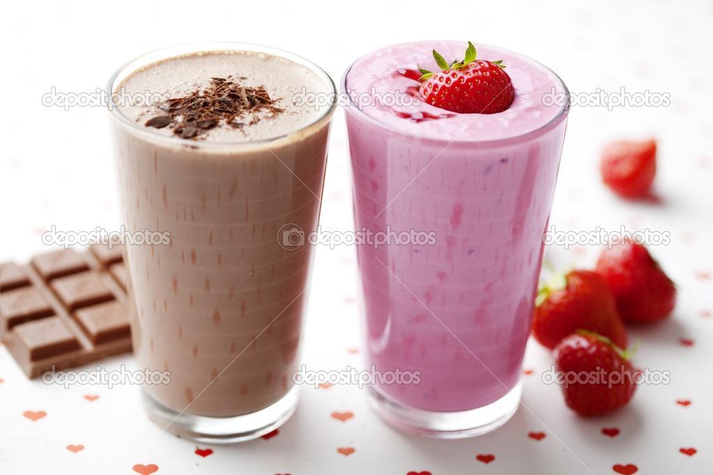 Chocolate Covered Strawberry Banana Milkshake | Trusper