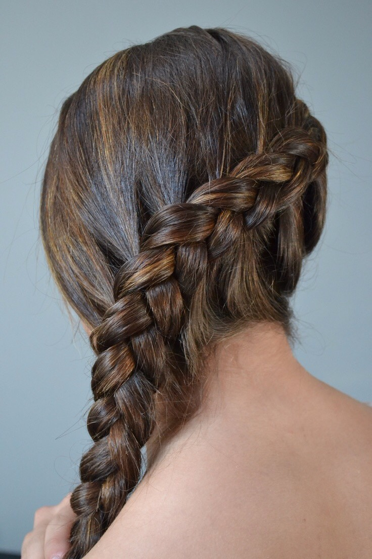 Dutch Braidthe Dutch Braid Is An Inside Out Plait Anchored