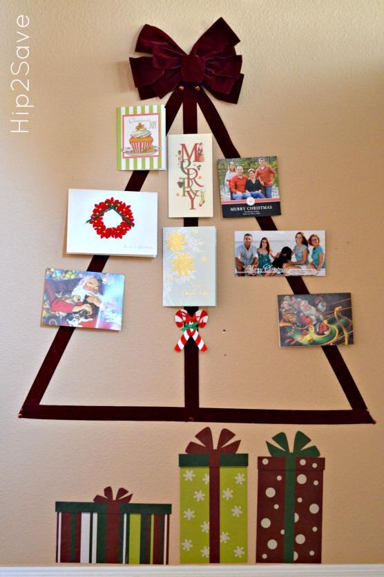 Creative Christmas Card Display Ideas Trusper