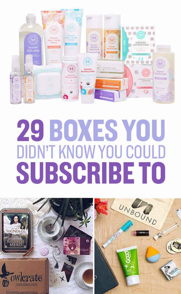 29 Awesome Things You Didn't Know You Could Subscribe To!!