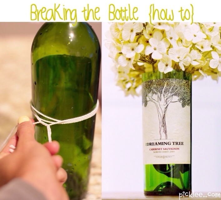 DIY--> How to Cut a Wine Bottle