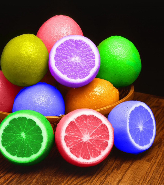 DIY Multi-Colored Fruit! Pretty Awesome!
