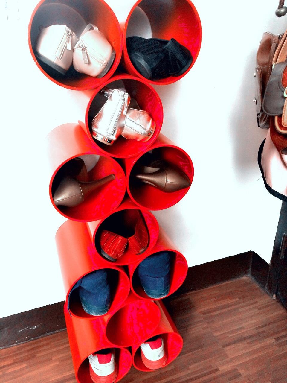 Stylish shoe rack trusper Stylish shoe rack
