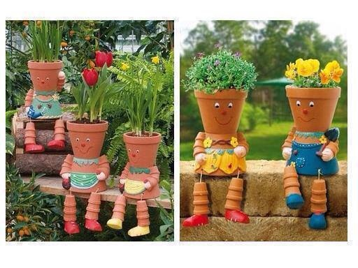 Super Cute Flower Pots!