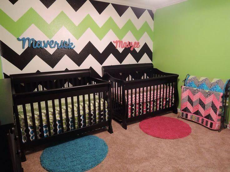 Twins Boy Girl Nursery Ideas Trusper