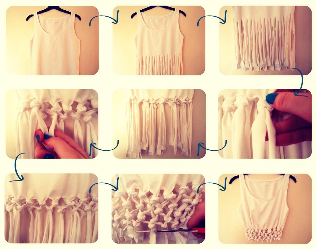 Переделка одежды своими руками с фото