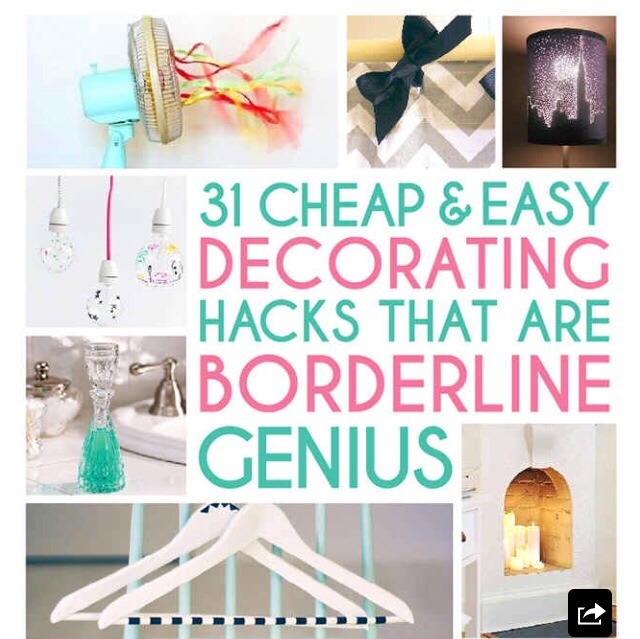 31 Cheap And Easy Decorating Hacks