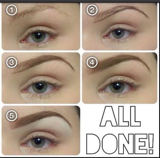 How To Fill In Your Eyebrows Perfectly Trusper