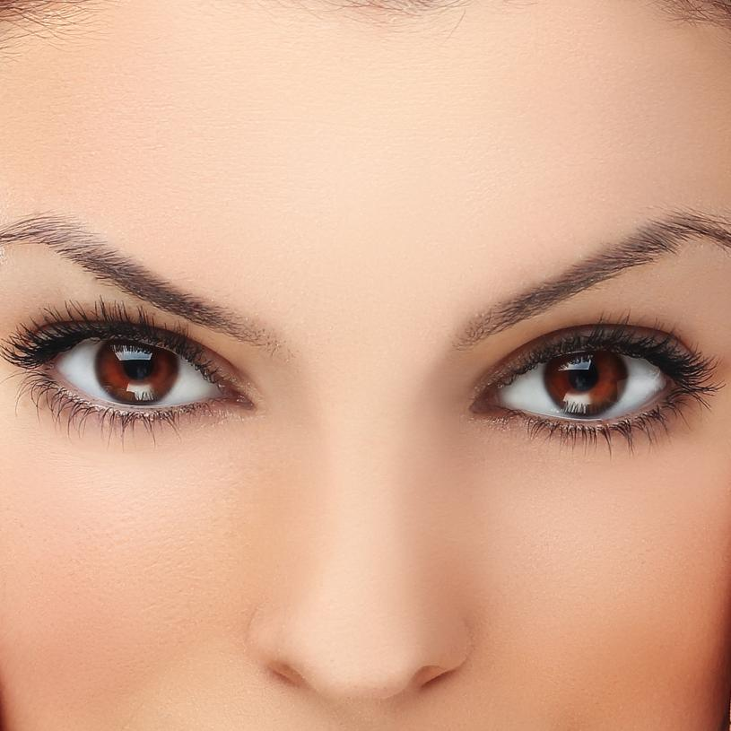 People with brown eyes tend to be serious people yet they love a good ... Unique Person In A Crowd