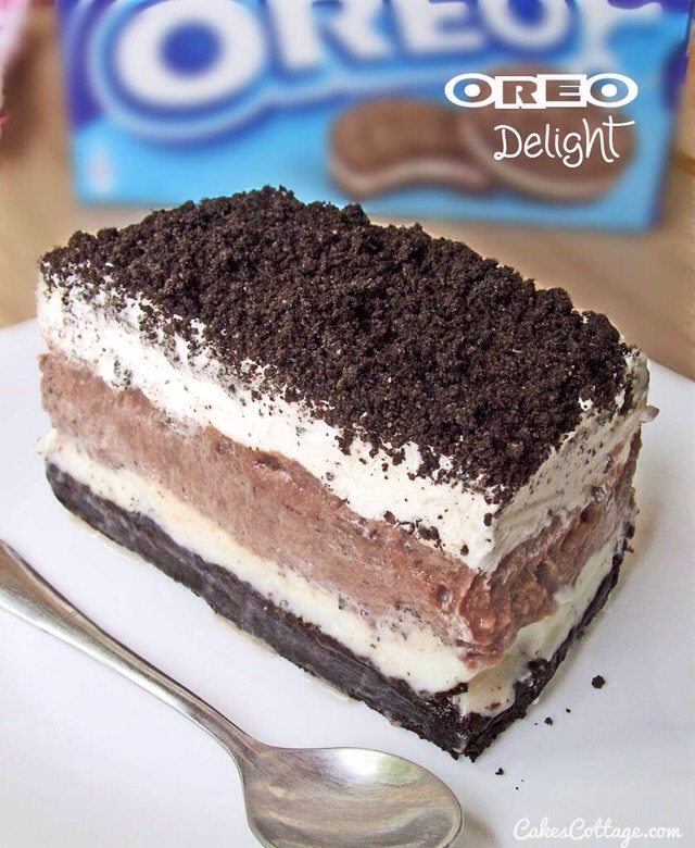 💥Delicious Oreo Delight With Chocolate Pudding💥😋👍#tipit