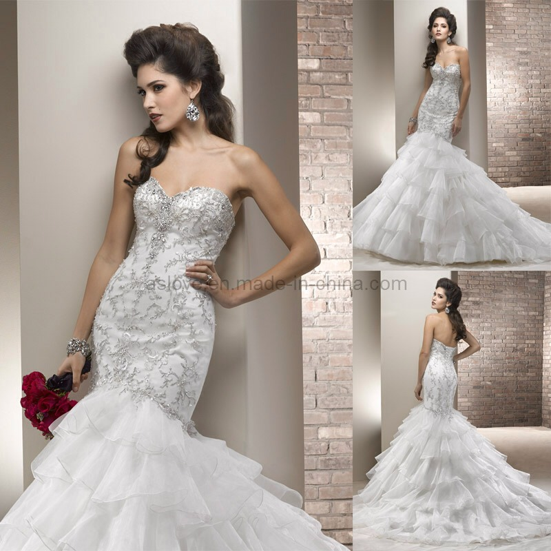 Mermaid wedding gowns trusper for Mermaid wedding dresses under 500
