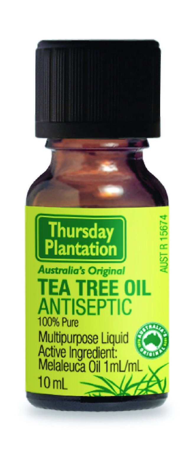 Tea Tree Oil.