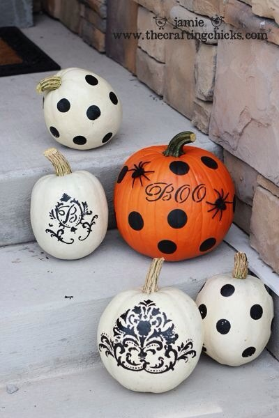 Cute Pumpkin Ideas For Halloween!! Remeber, dont just save...hit that like button!!