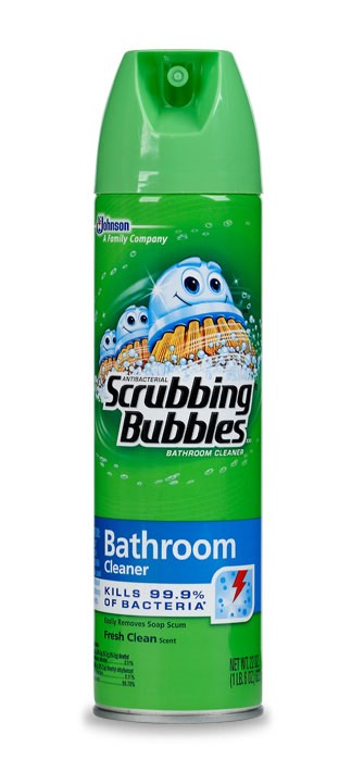 Use Scrubbing Bubbles Bathroom Cleaner To Remove Marker From Walls In Childerns Room : Trusper