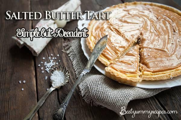 Salted Butter Tart | Trusper