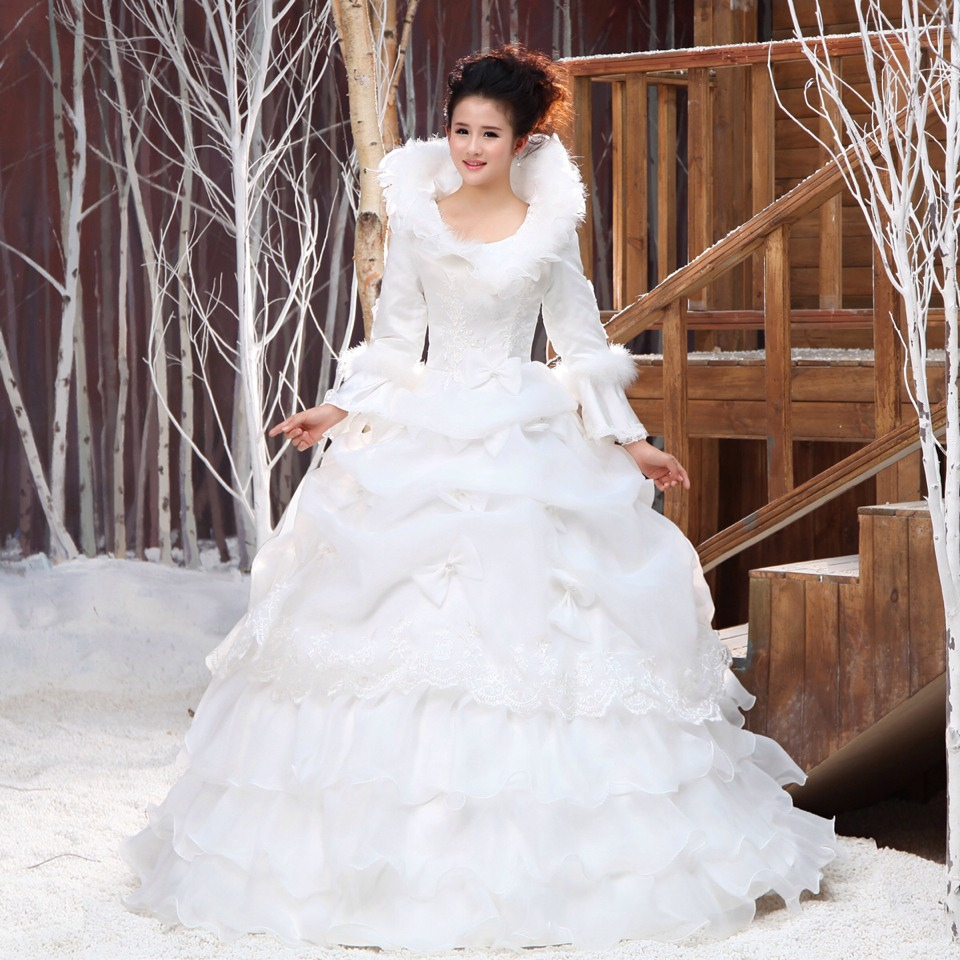 Winter Wonderland Wedding Dresses!