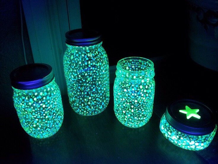 Glow In The Dark Jars Trusper