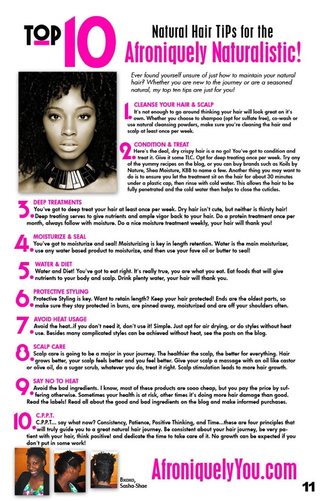 Hair Tips For Natural Hair