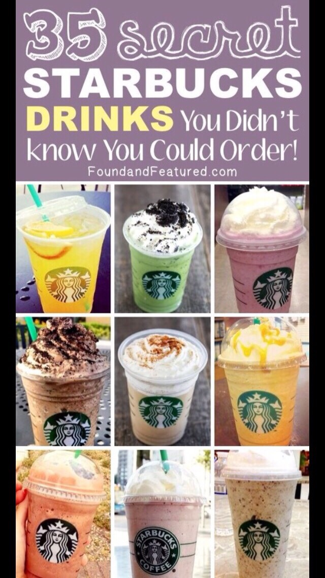 25 Starbucks Drinks You Didn't Know You Could Order