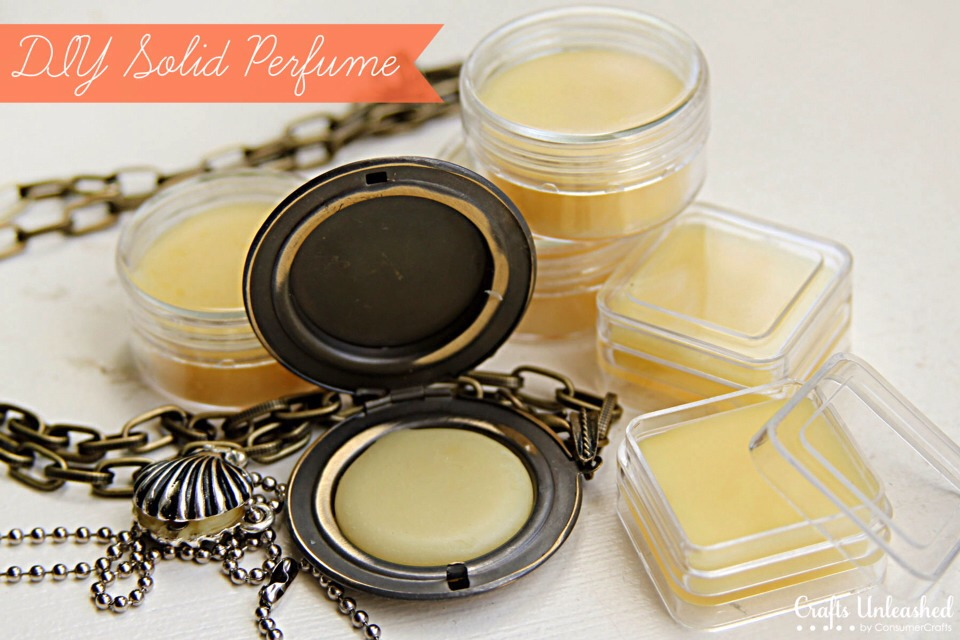 ✨✨DIY Solid Perfume✨✨