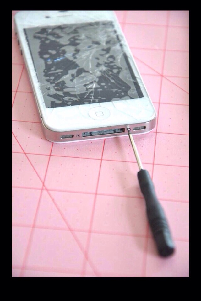 how to fix a cracked phone screen at home