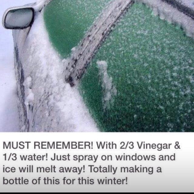 Icy Winter Windows...quick Fix