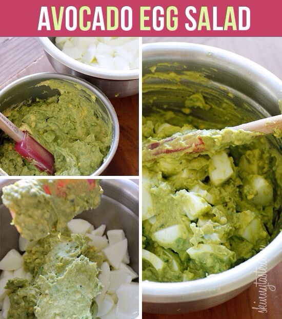 Directions-->-> Combine the egg yolks with the avocado -> Light mayo...