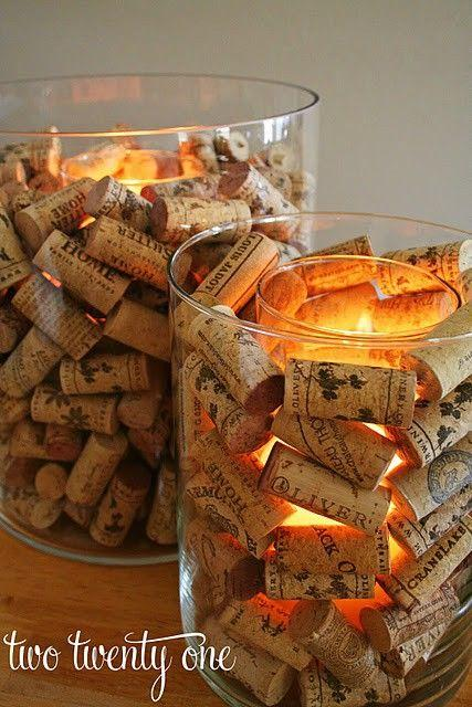 Save Those Wine Corks For Some Home Decorating!!