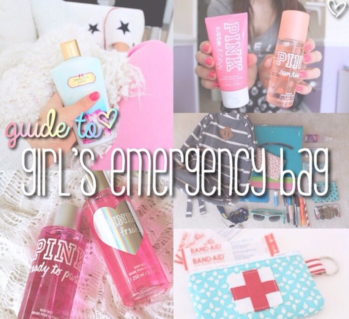 Girls Emergency Bag