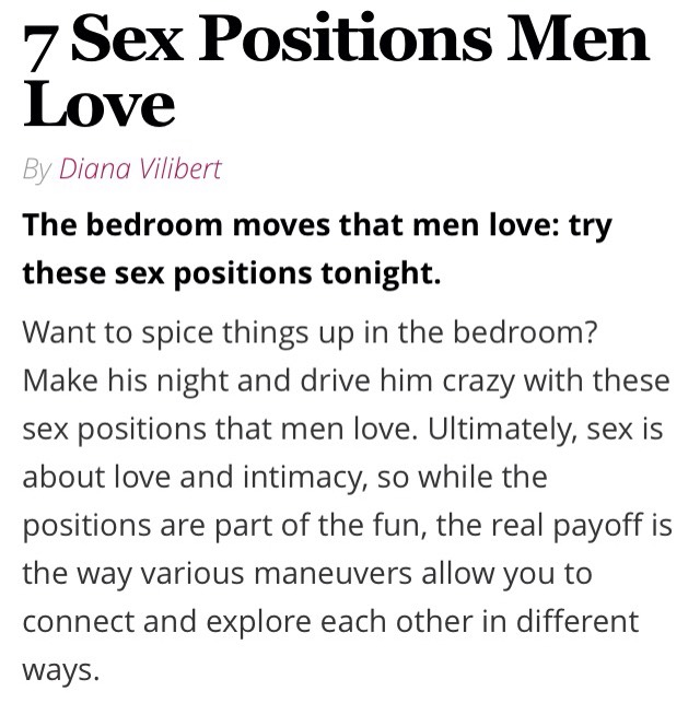 love advice positions