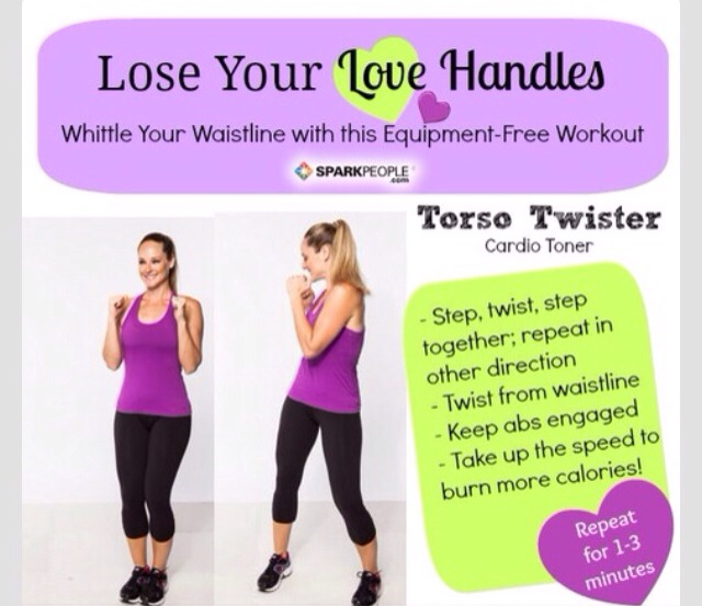 35 ways to lose your love handles