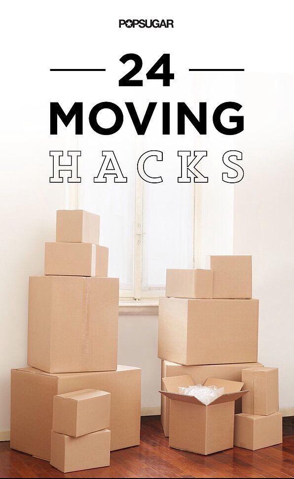 24 Moving Hacks!