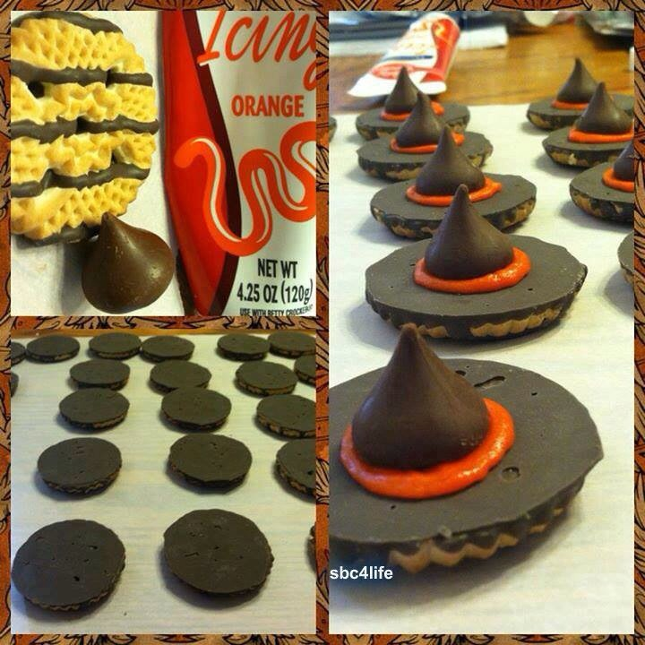 Nutella 9832 as well Halloween Wedding Cake Surprise Hiding Inside together with Nutella 9832 moreover  moreover Halloween Recipes. on nutella fudge witch hats