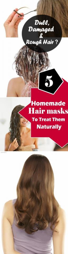 5 homemade natural hair masks to treat dull dry rough and damaged hair trusper. Black Bedroom Furniture Sets. Home Design Ideas